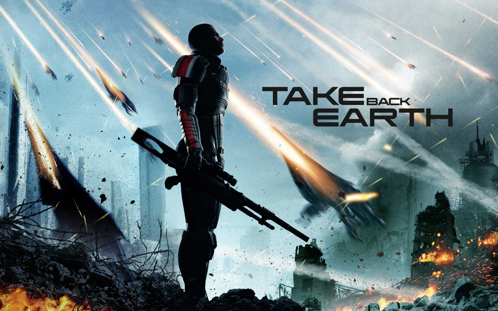 Mass Effect, Poster, XBOX, PS4