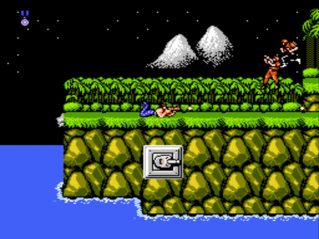 Level 1, Contra, Stage 1