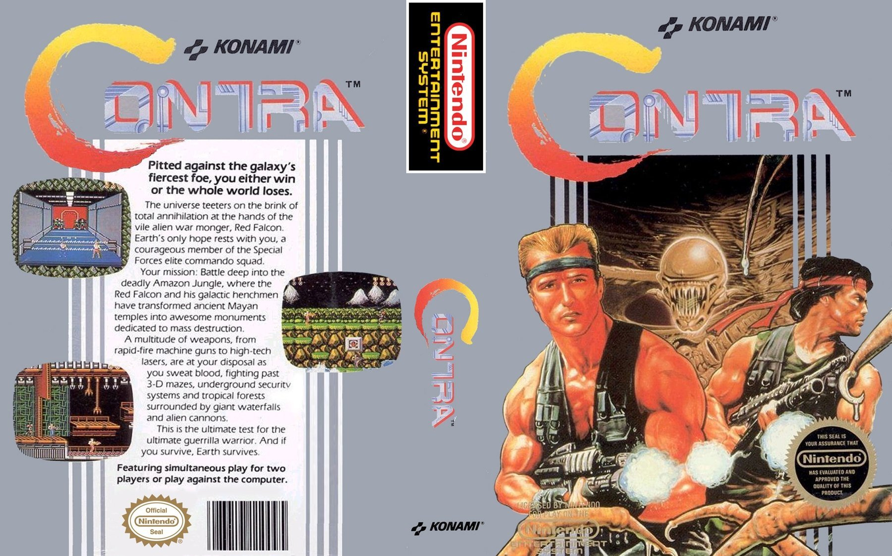 Front Cover, Contra