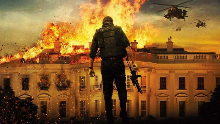 list of similar movies to Olympus Has Fallen