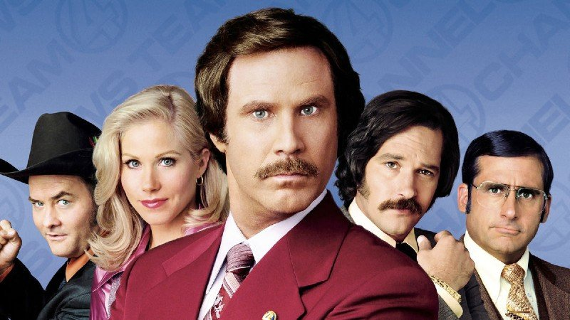 Cover for Anchorman movie quiz