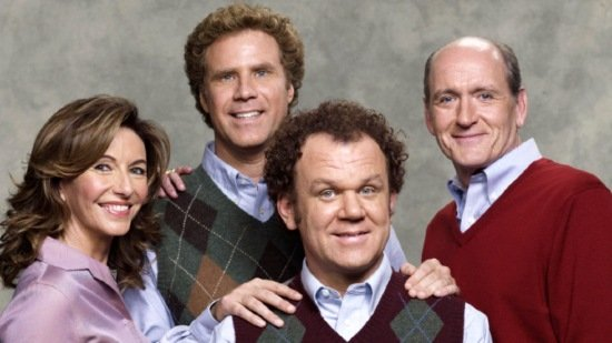 Portrait of Step Brothers Family