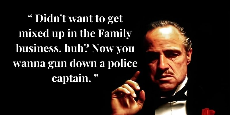 Godfather Who Said It Quiz Question - 10