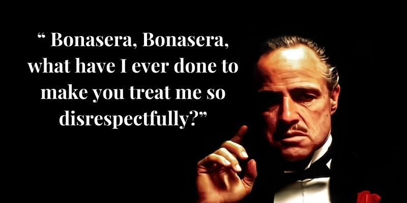 Godfather Who Said It Quiz Question - 9